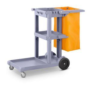 Ulsonix Reinigungswagen mit Wäschesack