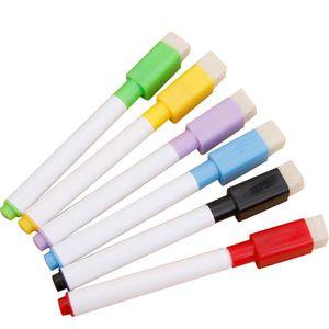 Magnetischer Whiteboard-Stift Whiteboard-Stift Whiteboard-Markierungsstifte Glatt Kreativ L?schbar 4 Farben Zuf?llige Schš¹ler-Schulsachen