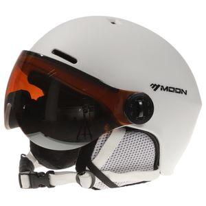 Snowboardhelm mit Ohrenschuetzer Goggle Maenner Frauen Sicherheit Skihelm Professionelle Skifahren Schneesport Helm