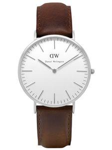 Daniel Wellington Uhr - Herrenuhr Bristol Silver - 0209DW