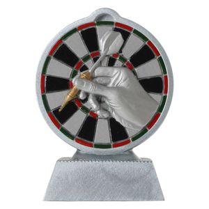 Pokal mit 3D Motiv Dart Darts Serie Ronny 10,5 cm hoch