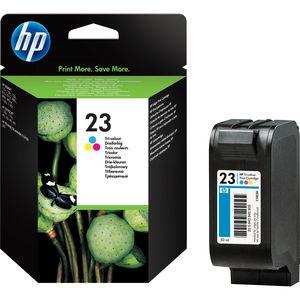 HP 23 Tintenpatrone - Magenta, Gelb, Cyan Original - Tintenstrahl - 640 Seiten