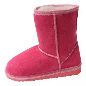 Lammfell Kinder-Boots - PINK : EUR 25