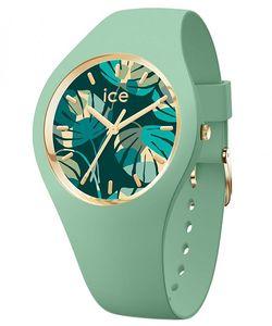 Ice Watch Armbanduhr ICE flower - Lagoon palm - Medium - 3H - 019210