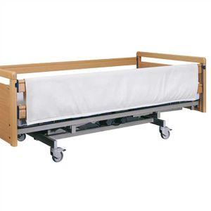 Seitengitterpolster 2-seitig mit Klettverschluss für Pflege- und Seniorenbetten
