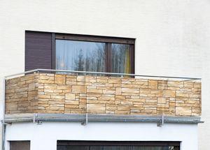 Sichtschutz Mauer