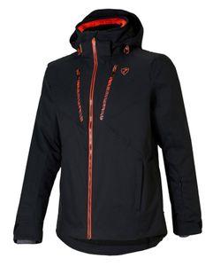 Ziener Herren Wintersport Skijacke Ski Jacke Winterjacke TIOGA man schwarz rot, Größe:54