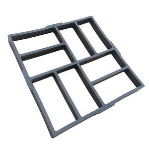 40 Cm 8 Grid Pflasterstein Gehweg Form Gießform Plastikform Schablone Gehwegplatten Beton Kunststoff Für Garten Natursteinpflaster Größe 40 x 40 x 4 cm B.