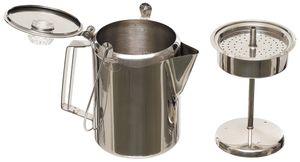 FoxOutdoor Kaffeekanne, mit Perkolator, Edelstahl, (9 Tassen)
