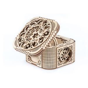 Ugears - Holz Modellbau Treasurebox Schatzkiste 190 Teile
