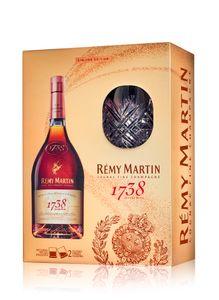 Remy Martin 1738 Accord Royal 40% Vol. 0,7l Limited Edition + 2 Gläser