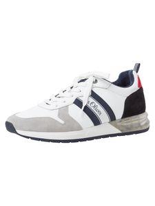 s.Oliver Herren Sneaker weiß 5-5-13606-26 Größe: 45 EU