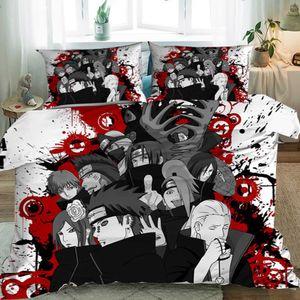 Anime One Piece 2-tlg. Bettwäsche-Set 135x200cm Bettgarnitur Polyester Bettbezug +Kissenbezug