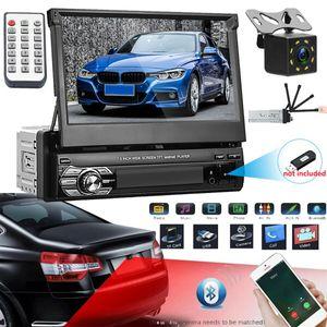 "Autoradio +Kamera 7"" Touchscreen Bildschirm Bluetooth USB SD 1DIN Radio MP5 MP3"
