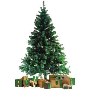 Künstlicher Tannenbaum mit Baumständer / 180cm / 600 Spitzen