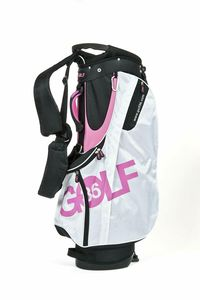 Standsack Golfbag Golf 36 Golfsack Tragebag rosa