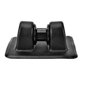 PVC  Binden Flecken Boot  Reihen Rolle Für Aufblasbare Bootskajaks Ab Farbe Schwarz