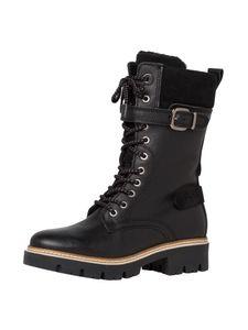 Tamaris Damen Stiefelette schwarz 1-1-26265-25 normal Größe: 37 EU