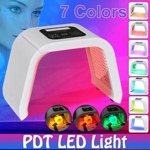 Neufu LED Photon Licht Therapie 7 Farben PDT Lampe Anti Aging Hautverjüngung Hautpflege Gesichtsmaske