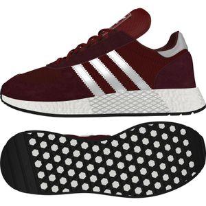 adidas Originals Marathon X5923 Sneaker collegiate burgundy/silver metallic/maroon 43 1/3