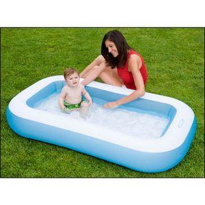 Intex 57403NP Rechteckiger Baby-Pool blau