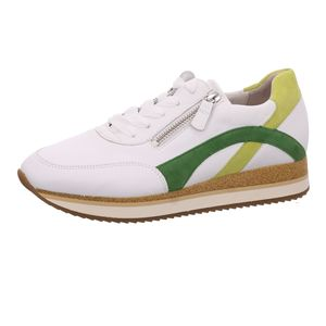 Gabor Shoes     weiss komb, Größe:4, Farbe:weiss/lemon/klee 1