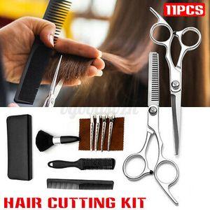 """11PCS 6"""" Friseurscheren Set Haarschere Effilierschere Scissors Haarschneiden Set"""