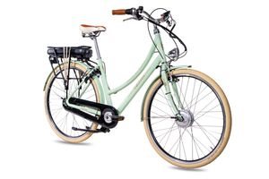28 Zoll E-Citybike CHRISSON EH1 7G Shimano Nexus & ANANDA 13Ah grün