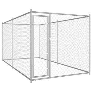 Mllaid Outdoor-Hundezwinger 382x192x185 cm