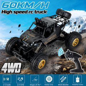 KYAMRC 48km/h 1:12 2.4Ghz RC Rock Off-Road Truck 4WD Ferngesteuertes Auto Geländewagen