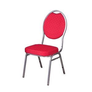 6er Bistrostühle rot Bankettstühle Stapelstühle Konferenzstühle Seminarstühle Besucherstühle