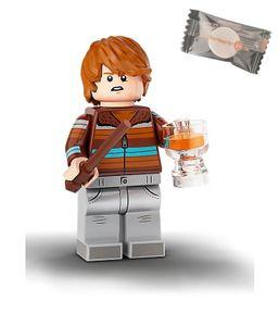 Lego® 71028 Harry Potter™ Minifiguren - Figur 16 Ron Weasley + 1 stickermarkt24de Gum