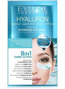 HYALURON aufhellende Hydrogel Augenpads 8 in 1, 2 St.