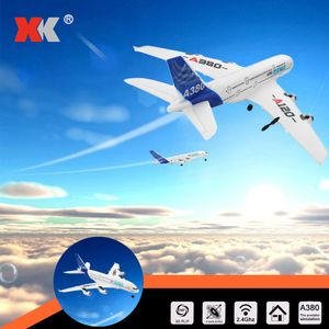 Wltoys XK A120 Airbus A380 Modell Flugzeug 3CH EPP 2.4G Fernbedienung Flugzeug Starrfl°îgel RTF Spielzeug