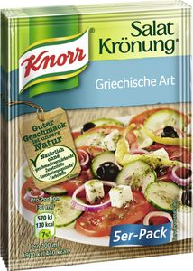 Knorr Salatkrönung Griechische Art (5 x 90 ml)