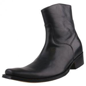 Sendra Herren  Stiefelette 7438 Schwarz, Schuhgröße:EUR 43