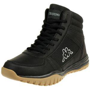 Kappa Herren Sneaker Boots Brasker Mid Schwarz, Größenauswahl:44