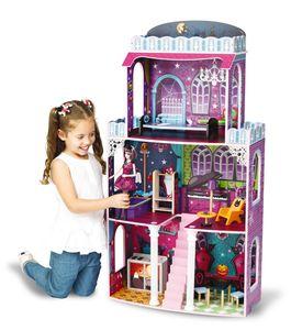 Holz Puppenhaus Villa Puppenvilla Spooky 118x62x28cm für Monster High Barbie
