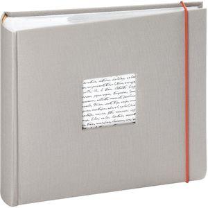 Einsteckalbum Linea 200 Fotos 11x15 cm grau