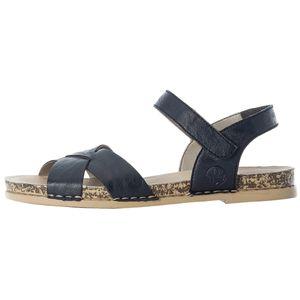 Rieker Damen Sandalen Sandaletten 61253-14, Größe:41 EU, Farbe:Blau