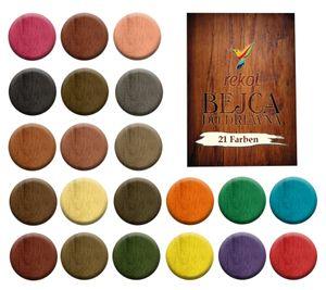 Holzbeize Möbelbeize Trockenbeize Beize Pulverbeize f. 2-3m² große Farbauswahl, Farbe:teak