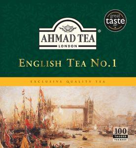 Ahmad Tea - English Tea No.1, Schwarztee 200g, 100 Beutel