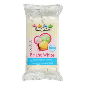 FunCakes Fondant, Zuckerpaste -Bright White- -250g-