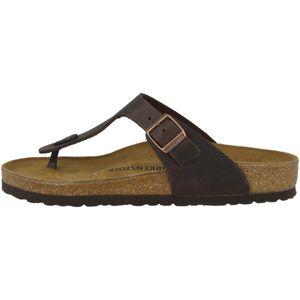 BIRKENSTOCK Gizeh Damen Zehentrenner Habana Schuhe, Größe:39