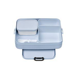 MEPAL Lunchbox 1,5 L Kunststoff Frühstücksbox Brotdose mit Gabel TAKE A BREAK