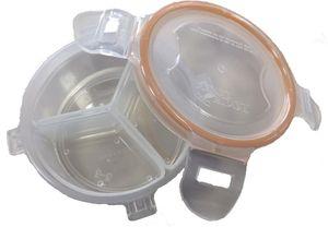 Lock&Lock Frischhaltedose 140 ml, mit 3 Innenboxen
