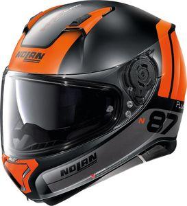 Nolan N87 Plus Distinctive 26 Matt Schwarz Orange M