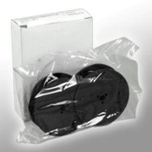 Kompa. Farbband DIN 2103 Gr. 1  Nylon schwarz/rot  0001.04