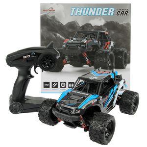 FunTomia Maximum RC | 2,4 GHz Monster Truck | Ferngesteuertes Auto | 36 km/h schnell | Lipo Power | RC Auto Farbe blau - 2452