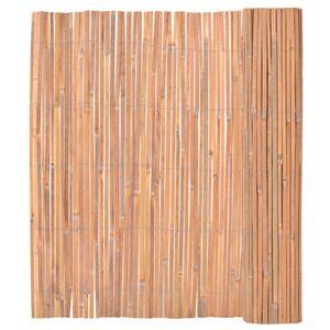 Hochwertigen Bambuszaun, Bambus Sichtschutzmatte, Bambusmatte 150×400 cm